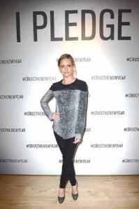 Sarah Michelle Gellar makes her pledge to help CIROC Vodka and Uber unlock $1 Million in safe rides at an event in Los Angeles. (PRNewsFoto/CIROC Ultra Premium Vodka)