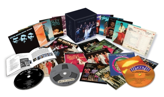 The Isley Brothers: The RCA Victor and T-Neck Album Masters (1959-1983), a monumental 23-disc box set, to be released on Friday, August 21, 2015 (PRNewsFoto/Legacy Recordings)