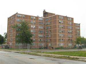 "Ida B. Wells Housing Complex, Chicago's South Side...""The Projects"""